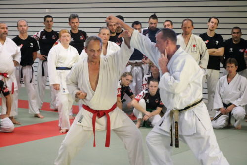 Stage Karaté Defense avec Bernard Bilicki à Montbéliard - Octobre 2018