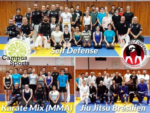 Soirée Combat Campus Sport à Besançon - Septembre 2018