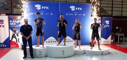 Gilles 3ème au Championnat de France Karaté Mix Light à Paris - Février 2020